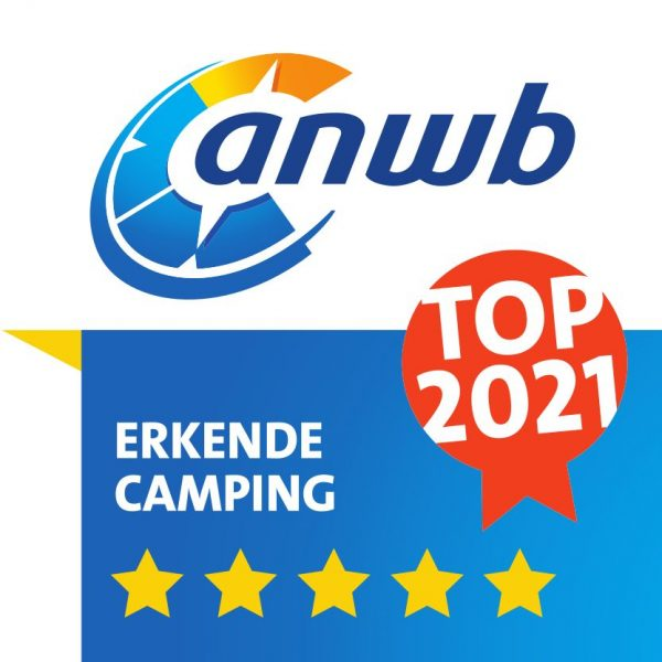 ANWB TOP Camping 2021 - 5 Sterren